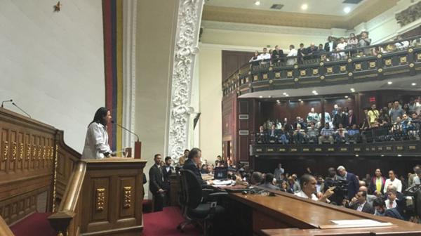 La oposición denunció un golpe de Estado por parte del régimen chavista (@AsambleaVE)