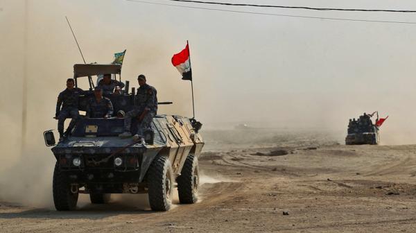 Las tropas iraquíes avanzan sobre Mosul (AFP)