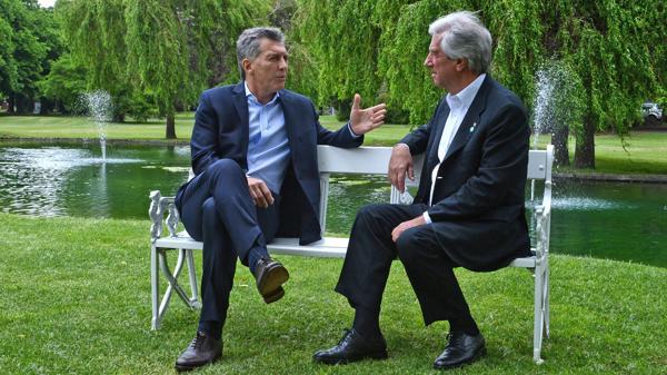 La reunión bilateral en Olivos