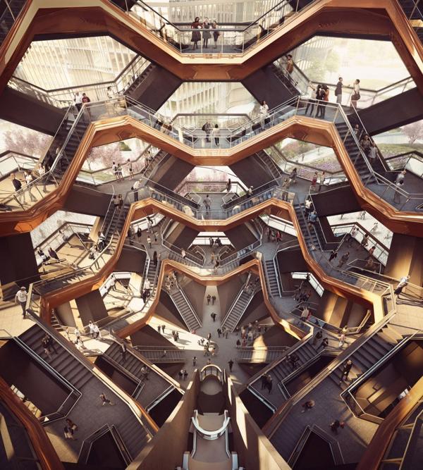 Será un espacio público de 15 pisos creado por el arquitecto estrella Thomas Heatherwick (Forbes Massie)