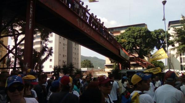 Caracas fue la ciudad con mayor concentración durante la Toma de Venezuela