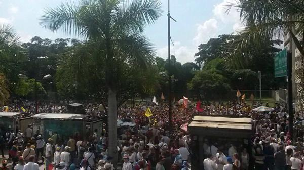 Caracas fue la ciudad con mayor concentración de protestantes