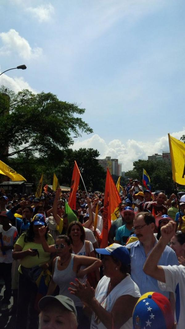 La Toma de Venezuela se convocó luego de la suspensión del proceso revocatorio