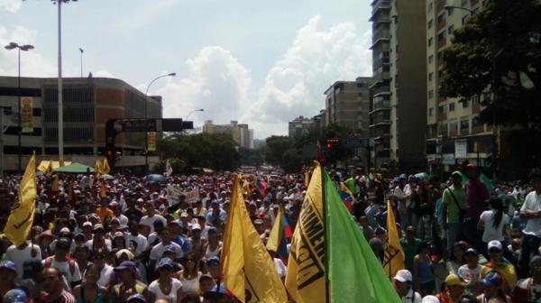 Los venezolanos reclaman un cambio de Gobierno