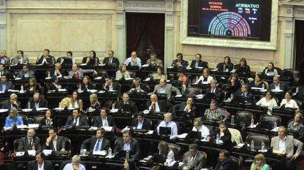 La Cámara de Diputados (Télam)