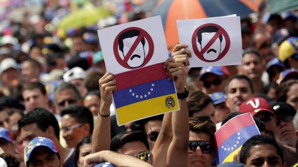 La Toma de Venezuela contó con la participación de miles de personas en todo el país (Reuters)