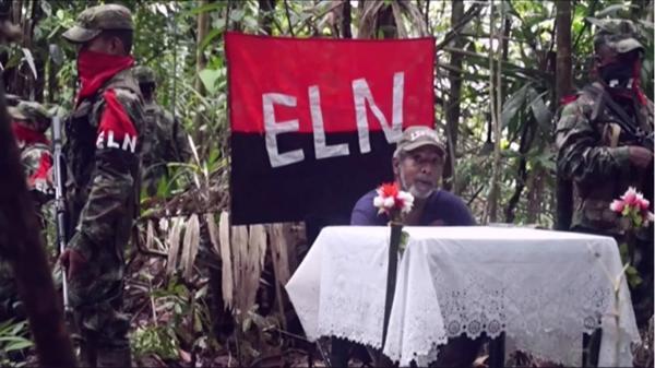 El ex diputado Odin Sanchez, rehén del ELN (AFP)