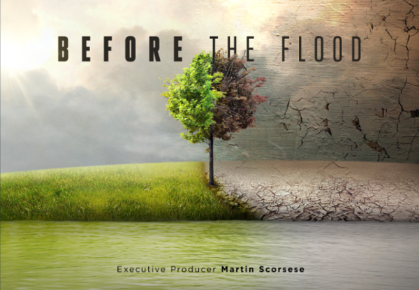 Se espera que 'Before The Flood Poster' entre en la carrera por el Oscar (National Geographic)