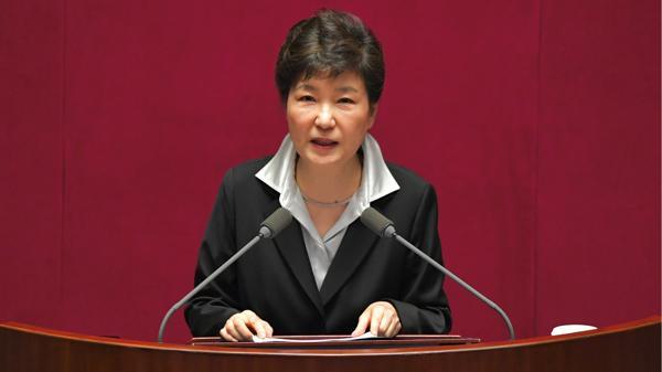 La presidente de Corea del Sur finalmente anunció que renunciará