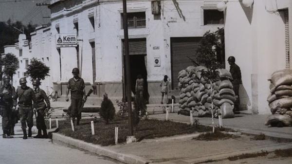 Militares en las calles de Tucumán (Archivo Nacional de la Memoria)