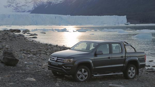 El Glaciar Perito Moreno fue el escenario para conocer el restyling de una de las pick ups más vendidas del mundo