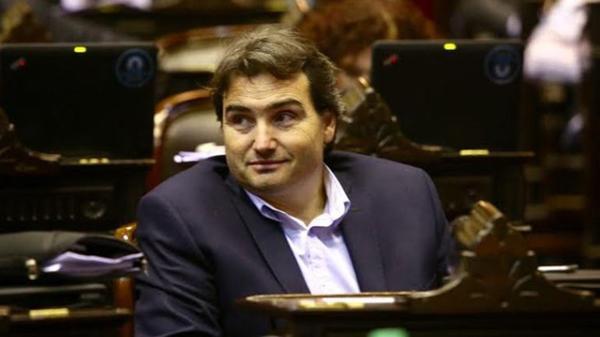 Lucas Incicco, diputado nacional por Santa Fe que forma parte de Cambiemos