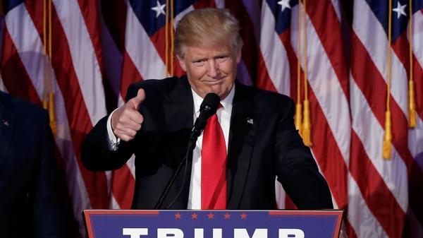 Donald Trump celebra su triunfo ante sus votantes (Reuters)