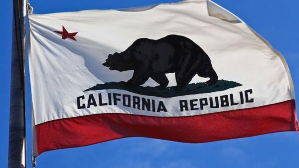 La bandera del oso y la estrella, la que representó ala República de California cuando se separó de Alta California, México. La idea de ser un país independiente duró pocas semanas en aquel entonces. Hoy resurgió por el triunfo de Donald Trump