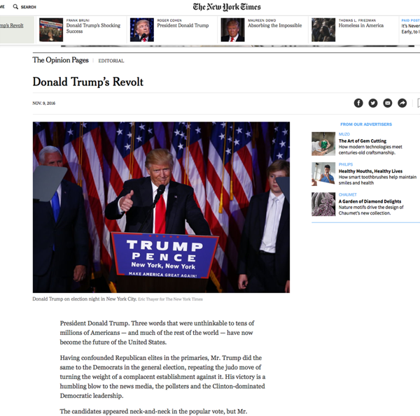El editorial de The New York Times