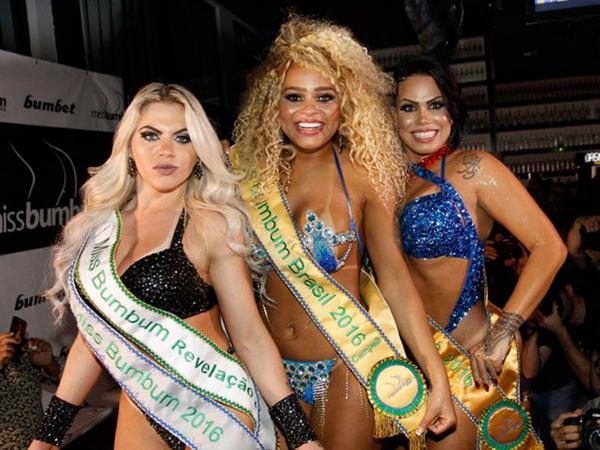 Danny Morais, Erika Canela y Mc Sexy (Crédito: Globo.com)