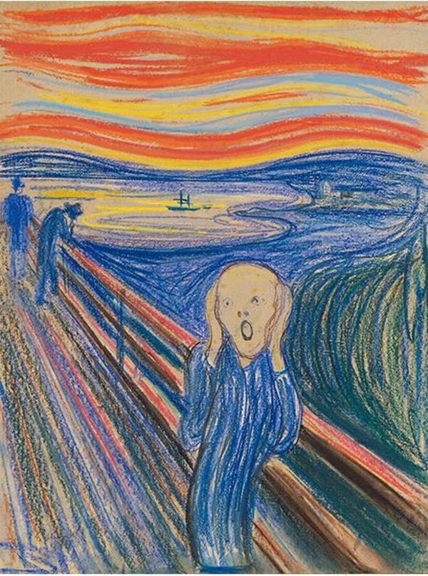 El récord para una obra de Munch llegó en 2012 con los 119,9 millones pagados por una de las cuatro versiones que el pintor hizo de su famoso 'El grito' (Sotheby's)