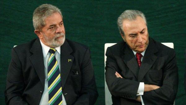 """Michel Temer, ante la posible detención de Lula da Silva: """"Sería un problema para el país"""""""