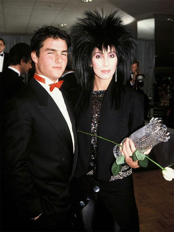 Cher y Tom Cruise tuvieron un intenso romance en 1985