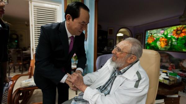 Cómo fue la última aparición de Fidel Castro