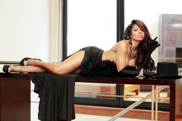 La bella morocha comenzó su carrera en televisión a los 14 años