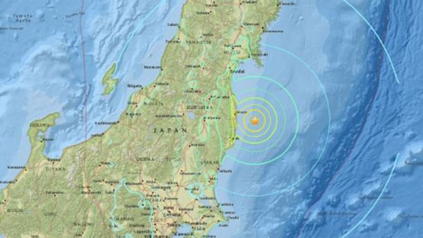 Fuerte terremoto de magnitud 7.3 en el noreste de Japón: emiten alerta de tsunami