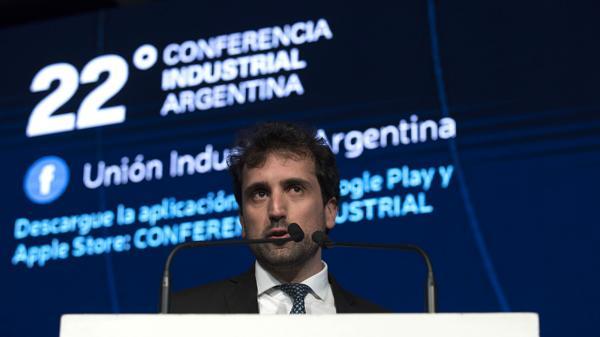 El economista de la UIA Diego Coatz (Adrián Escandar)
