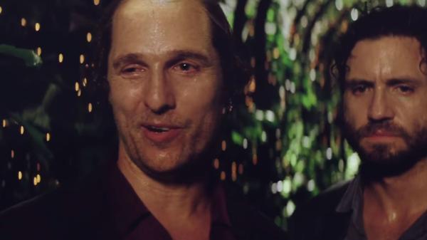 La insólita dieta de Matthew McConaughey para su última transformación por una película