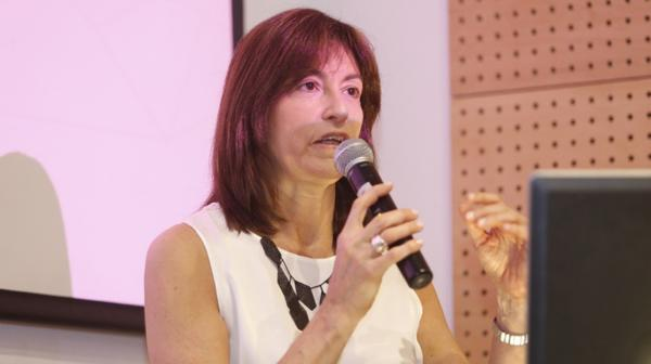 María Inés Baqué, Secretaría de Gestión e Innovación pública del Ministerio de Modernización (Nicolás Aboaf)