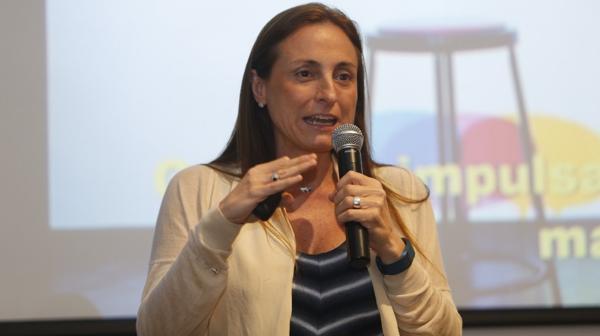 Miriam Álvarez Iturre, Directora de Talento y Desarrollo de Hispanoamérica y Brasil del Grupo Telefónica (Nicolás Aboaf)