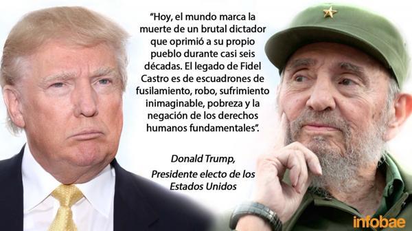 La declaración de Donald Trump