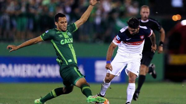 """Helio """"Neto"""" Zampier en la serie de semifinales de la Copa Sudamericana contra San Lorenzo"""