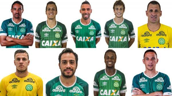 Los que esquivaron la tragedia: 9 futbolistas del Chapecoense se quedaron en Brasil