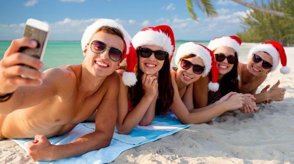 Las playas de la Costa Argentina son siempre una buena opción para pasar las fiestas (iStock)