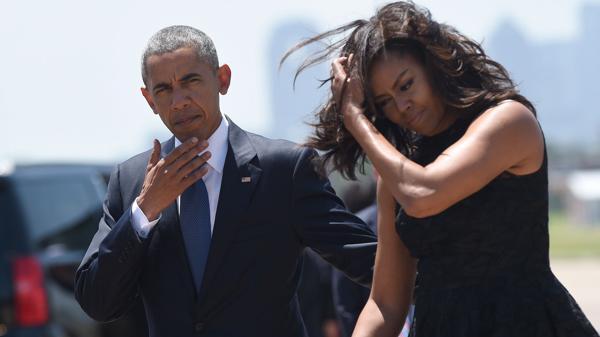 """Barack Obama: """"Michelle nunca se presentará a las elecciones"""""""