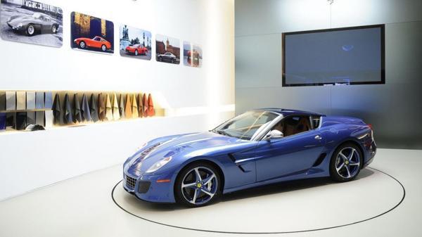 Fue exhibida en el Concorso d'Eleganza Villa d'Este, una de las exposiciones de autos más distinguidas