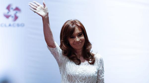 Cristina Kirchner, la mejor candidata para el peronismo (AFP)