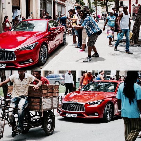 Los habitantes de La Habana se mostraron asombrados ante el vehículo diseñado por un hijo del exilio cubano, convertido en símbolo del acercamiento diplomático entre ambas naciones