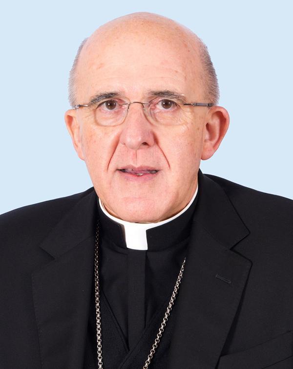 Monseñor Carlos Osoro Sierra, arzobispo de Madrid