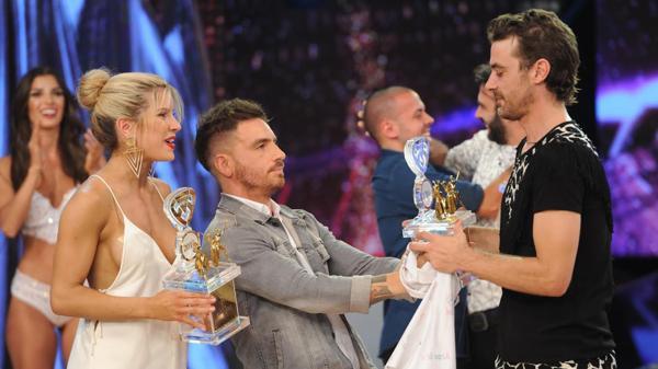 Fede Bal y Laurita Fernández entregaron el trofeo a los ganadores