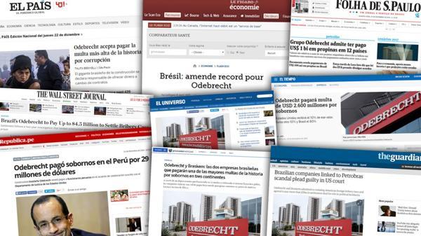 El escándalo llegó a los diarios de todo el mundo