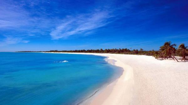 La isla de 48 kilómetros de largo y 16 de ancho es fantástica para largas caminatas