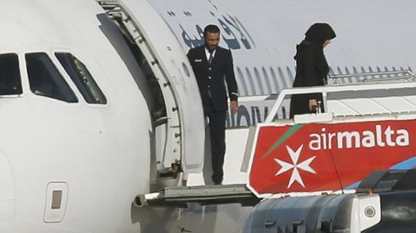 La liberación de los pasajeros (Reuters)