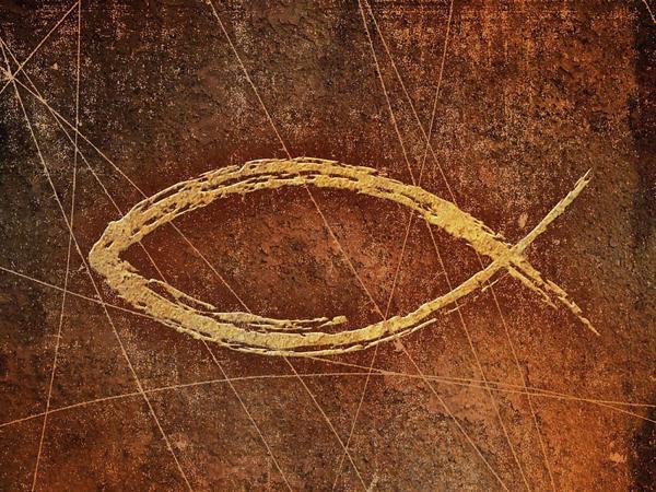 ICTIS (pez en griego) era al acrónimo de Jesús Cristo hijo de Dio Salvador