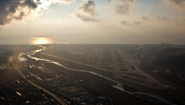 Foto aerea del aeropuerto Internacional de Sochi (REUTERS)
