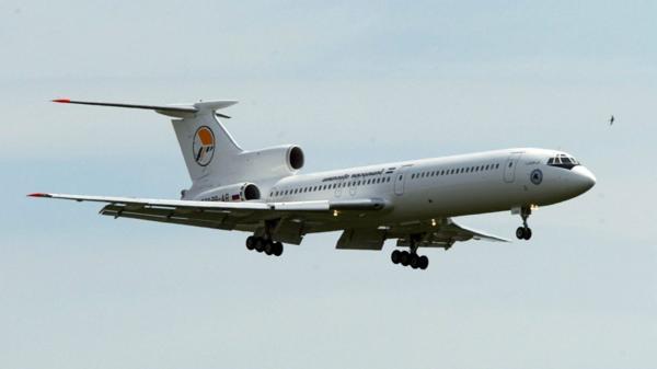 Un Tupolev Tu-154 similar al que se estrelló este domingo (EFE)