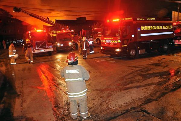 Participaron más de 200 bomberos voluntarios (Prensa – Municipio de Tigre)