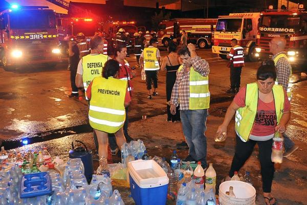 Se debió evacuar a una gran cantidad de vecinos de la zona (Prensa – Municipio de Tigre)