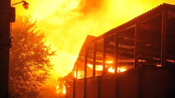 El incendio comenzó antes del inicio de navidad (Prensa – Municipio de Tigre)