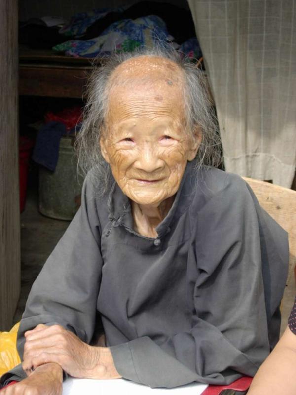Yang Huanyi murió en el 2004 a los 98 años